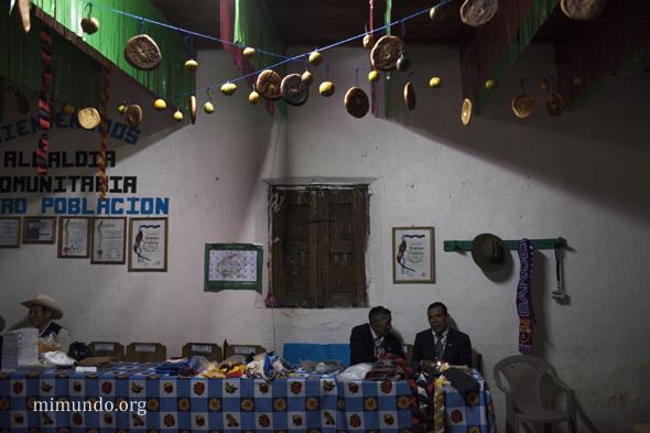 Consultation in Santa Maria Chiquimula, Totonicapan